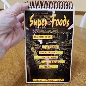 """Other - 5/$15❤ Flip Book: """"Super Foods"""""""